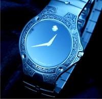 Engraved Movado watch